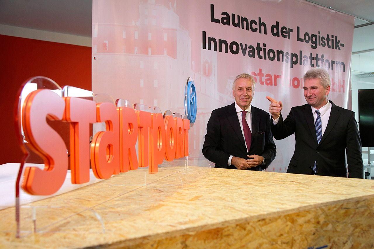 BvB 09 und RAG-Stiftung Partner im startport