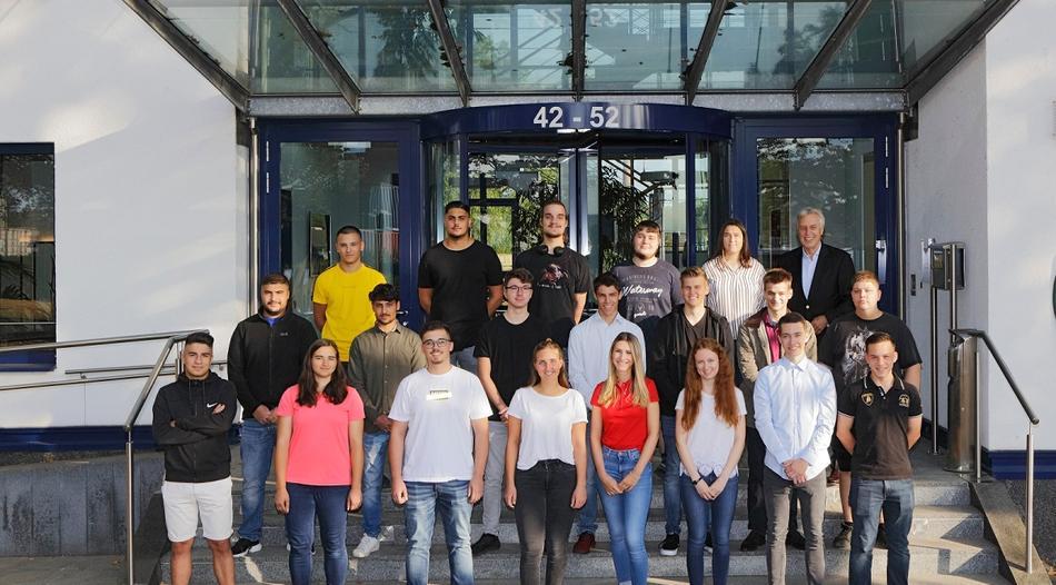 Ausbildungsrekord bei duisport: Gute Zukunftsperspektiven!