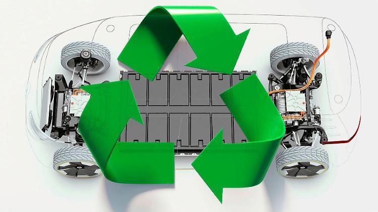 #Recycling macht unabhängig von Rohstoffimporten: #VW macht´s vor