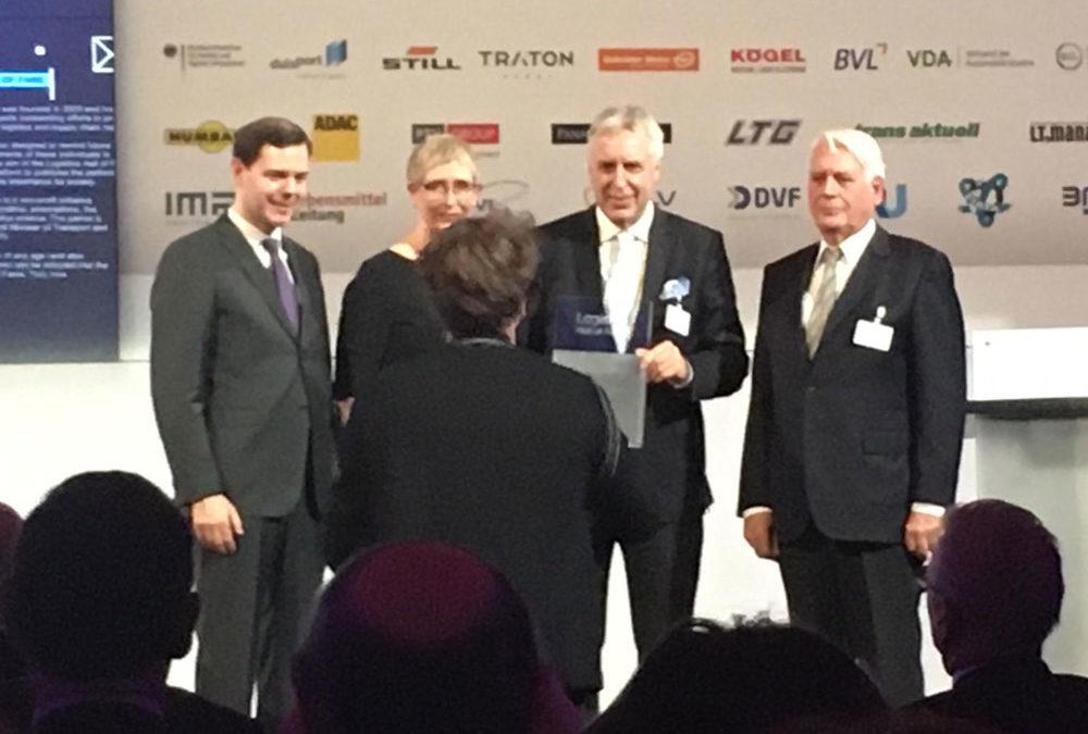 Erich Staake wurde in die »Logistics Hall of Fame« aufgenommen